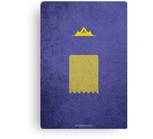The Paper Bag Princess w/o Title Canvas Print