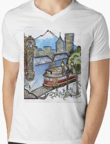 portland tshirt contest Mens V-Neck T-Shirt