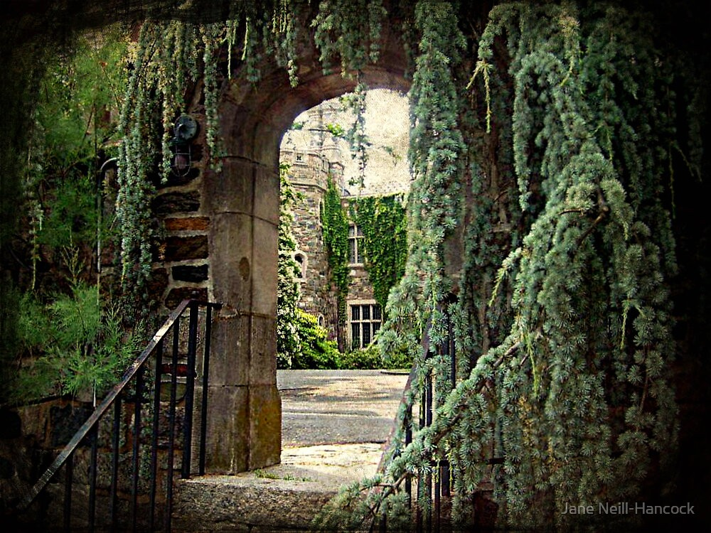 Archway To The Castle by Jane Neill-Hancock