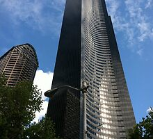 Columbia Center Tower by Julie Van Tosh Photography