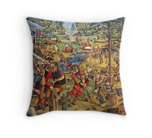 Weekenhacker Country Club Throw Pillow