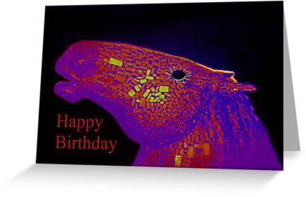 Birthday card by Forfarlass