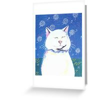 Dandelion Breeze Greeting Card