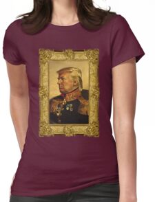 Emperor Trump 2016 Womens Fitted T-Shirt
