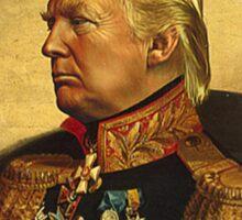 Emperor Trump 2016 Sticker