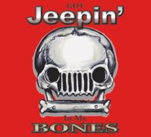 Jeepin' Bones Kids Tee
