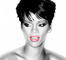 Rihanna - Pop Art by wcsmack