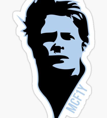 McF1y Blue Logo Sticker
