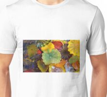 Green Center Glass by Chihuly Unisex T-Shirt