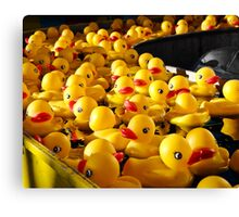 Carnival Duckies Canvas Print