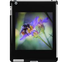 Bumblebee on Neon Flower iPad Case/Skin