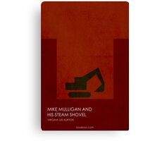 Mike Mulligan and His Steam Shovel Canvas Print