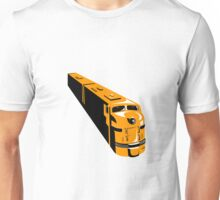 Diesel Train High Angle Retro Unisex T-Shirt