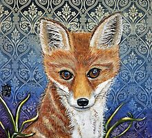 Red Fox by Melanie Pople