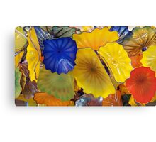 Mixed Floral Glass by Chihuly Canvas Print