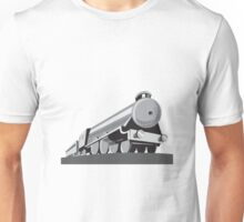 Steam Train Locomotive Retro Unisex T-Shirt