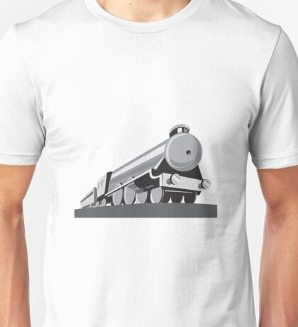 Steam Train Locomotive Retro Unisex T-Shirt