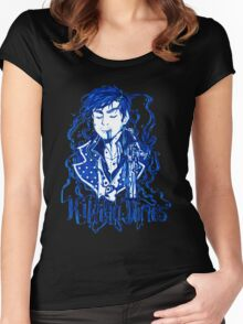 Dark Hook Ink Women's Fitted Scoop T-Shirt
