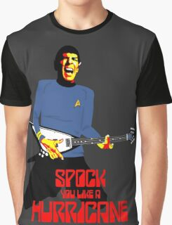 Spock You Like A Hurricane Graphic T-Shirt