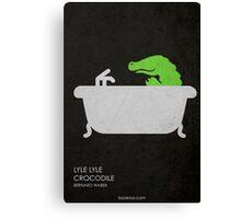 Lyle Lyle Crocodile Canvas Print