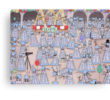 the daleks ball Canvas Print