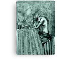 Contemplation ( In Mono ) Canvas Print