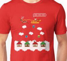 8 Bit Santa Unisex T-Shirt
