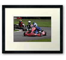 NatSka Karting National Championship 2012 Framed Print