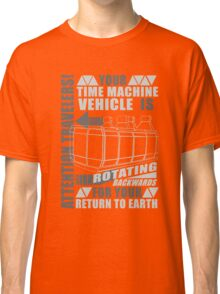 Time Travel Backwards Classic T-Shirt