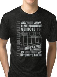 Time Travel Backwards Tri-blend T-Shirt