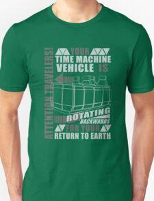 Time Travel Backwards Unisex T-Shirt