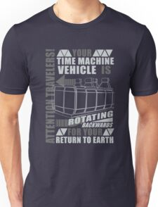Time Travel Backwards Unisex T-Shirt