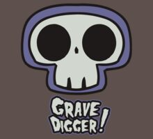 Grave Logo by Jon David Guerra