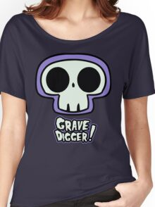 Grave Logo Women's Relaxed Fit T-Shirt