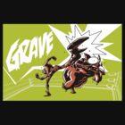 Grave - Finisher Tee by Jon David Guerra