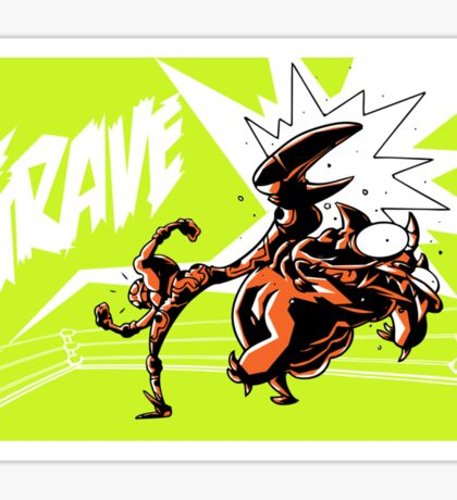 Grave - Finisher Tee Sticker