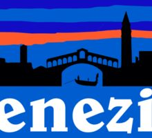 Venezia skyline - Venice Sticker