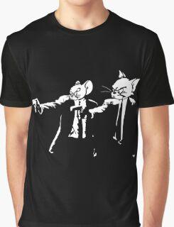 Vincent Mouse & Jules Cat Graphic T-Shirt