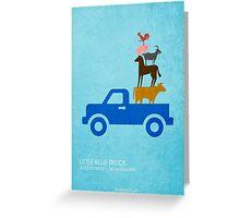 Little Blue Truck Greeting Card