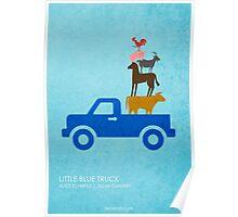 Little Blue Truck Poster