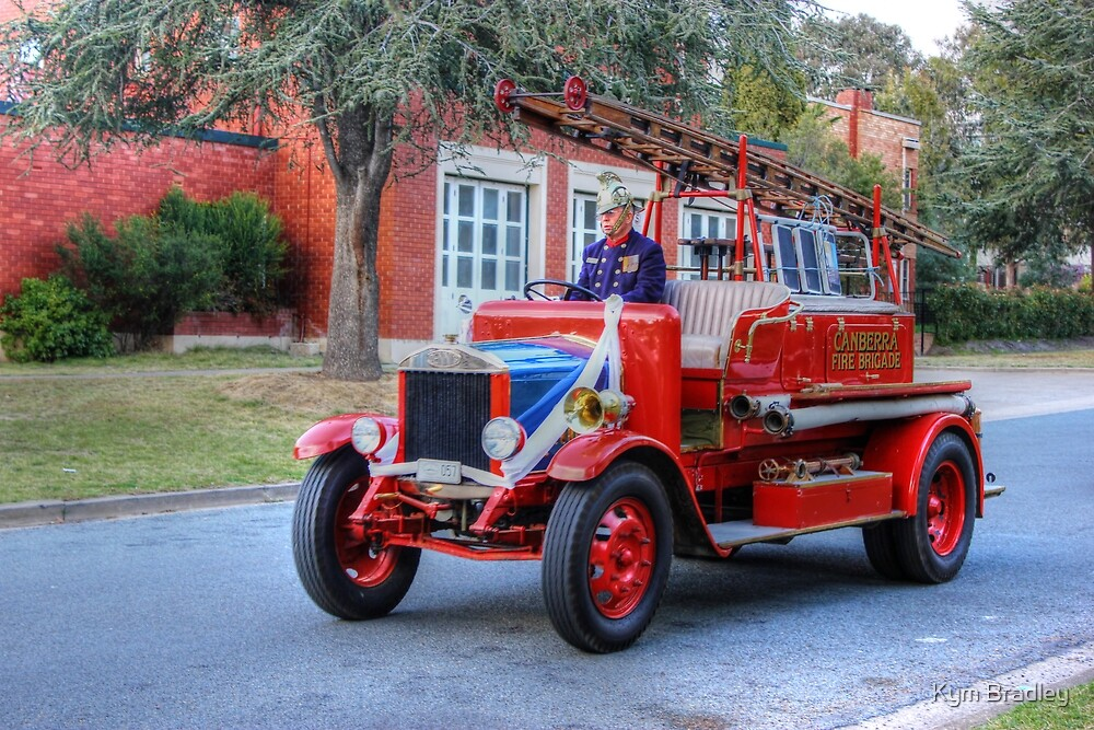 Times gone By Fire Engine  28 Dennis 250 by Kym Bradley