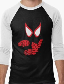 Miles Morales Spider-man T-Shirt Men's Baseball ¾ T-Shirt