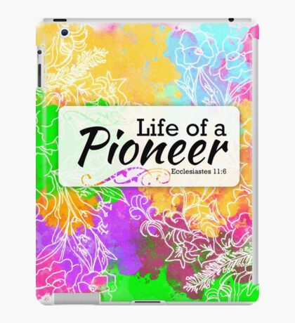 Jw - Life of a Pioneer iPad Case/Skin