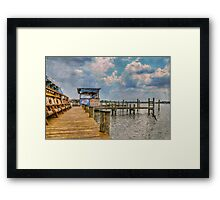 Monday, Monday Framed Print