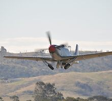 Hunter Valley Airshow 2015 Airshow - Mustang Take-off by muz2142