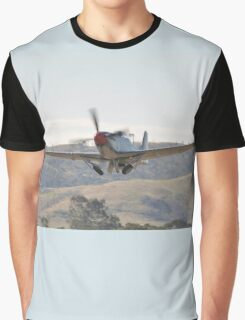 Hunter Valley Airshow 2015 Airshow - Mustang Take-off Graphic T-Shirt
