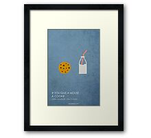 If You Give a Mouse a Cookie Framed Print