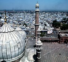 Jammi Masjid Old Delhi by Eva Kato