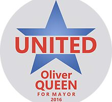 VOTE QUEEN FOR MAYOR 2016 (v2) by Numnizzle