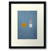 If You Give a Mouse a Cookie w/o Title Framed Print